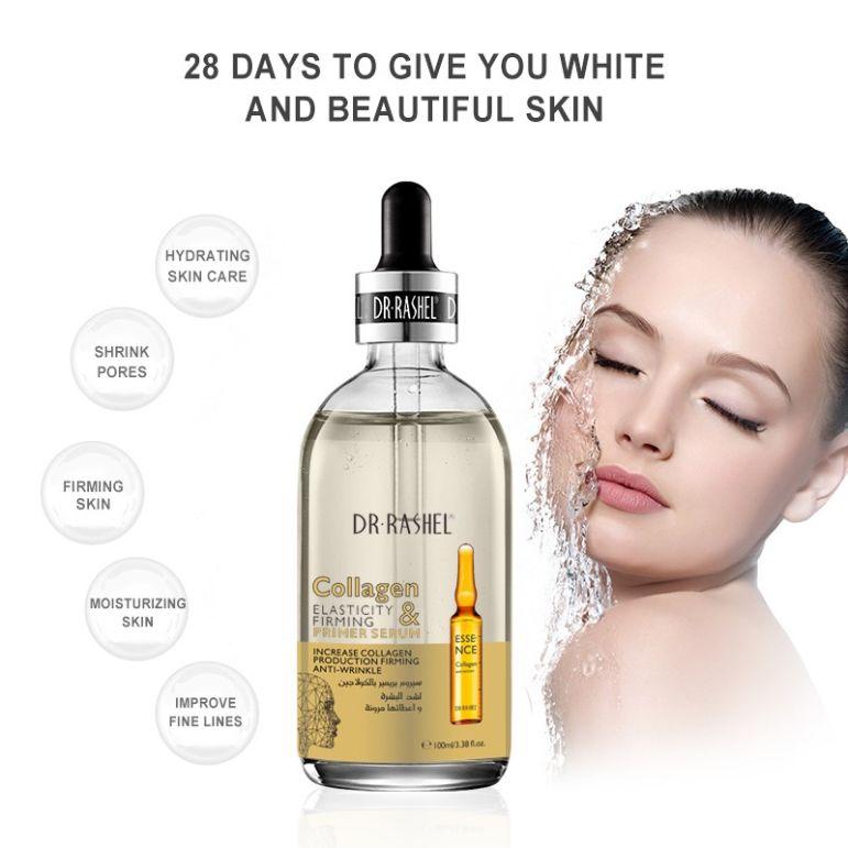 Collagen elastic firming makeup muscle base dr rashel pakistan